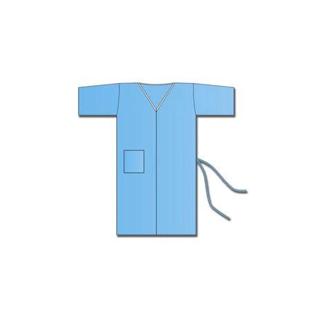 GIMA NON WOVEN KIMONO - BLUE (100 PCS)