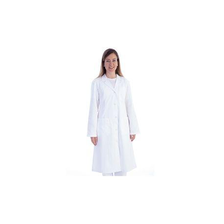 GIMA WHITE COAT - COTTON/POLYESTER - WOMAN - DIFFERENT SIZES