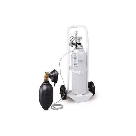 TECNO-GAZ OXYGEN FOR AIR-OX RESUSCITATION WITH TROLLEY (WITHOUT CYLINDER)
