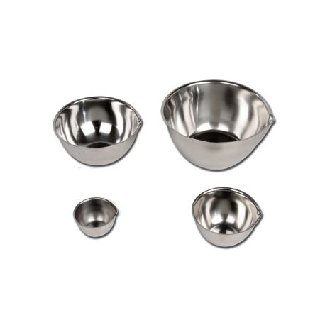 GIMA S/S GALLIPOT WITH LIP - DIFFERENT DIAMETERS
