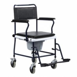 INTERMED TOILET CHAIR - WITH 4 WHEELS