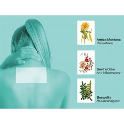 GIMA PREVIDOL SOOTHING PATCH 9X14 CM (5 PCS)