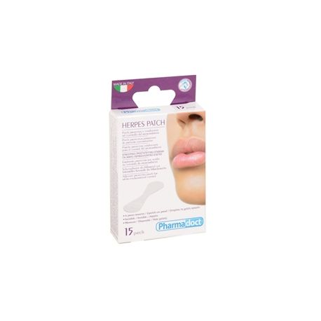 PHARMADOCT HERPES PATCH - CARTON OF 12 BOXES OF 15