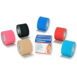 LEUKOTAPE K NEUROMUSCULAR TAPE 5 M X 5 CM - DIFFERENT COLORS (1 ROLL)