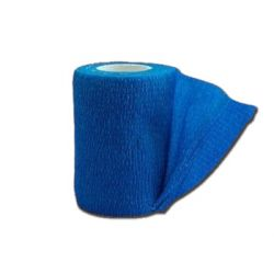 GIMA COHESIVE NON WOVEN ELASTIC BANDAGE 4.5 M X 10 CM - DIFFERENT COLORS (10 ROLLS)