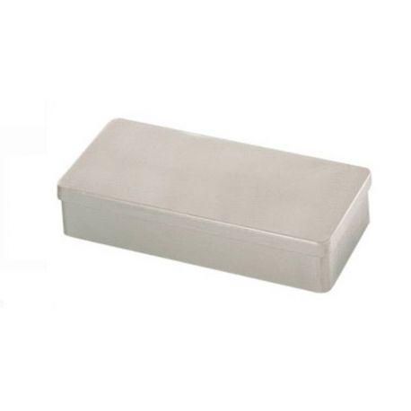 MORETTI SMOOTH BOX FOR INSTRUMENT STERILIZATION - ALUMINUM - VARIOUS SIZES