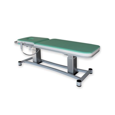 GIMA LORD HEIGHT ADJUSTABLE EXAMINATION COUCH WITH TR/RTR - WATER GREEN