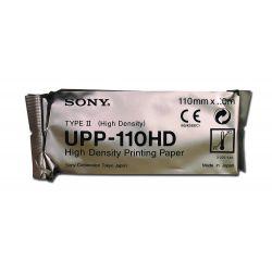 SONY ORIGINAL SONY UPP 110HD PAPER - HIGH DENSITY B / W PAPER FOR ULTRASOUND (10 ROLLS)
