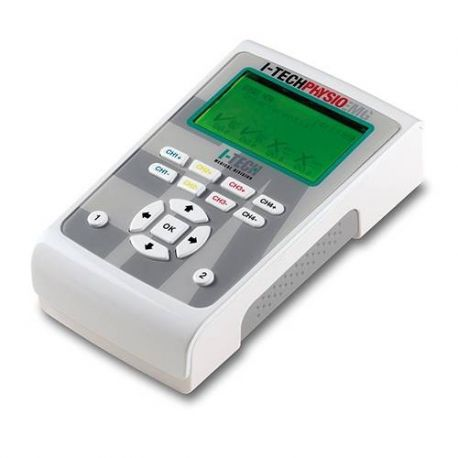 I-TECHPHYSIO PROFESSIONAL STIMULATOR PHSYIO EMG-2-CHANNEL ELECTROMYOGRAPHY + 4-CHANNEL ELECTROTHERAPY