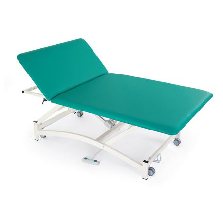 FISIOTECH TWO-SECTION ELECTRIC BED WITH MANUAL HEAD ADJUSTMENT BOBATHS2-DIFFERENT COLORS