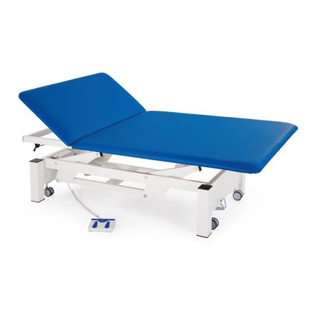 FISIOTECH TWO-SECTION ELECTRIC BED WITH HEAD ADJUSTMENT WITH GAS SPRING TITAN2-DIFFERENT COLORS