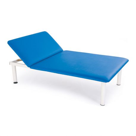 FISIOTECH TWO SECTION FIXED HEIGHT COUCH FOR MASSAGE AND EXAMINATION ADE2-DIFFERENT COLORS