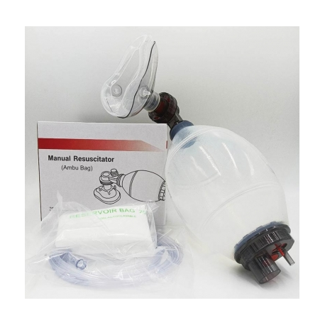 INTERMED RESUSCITATION BAG WITH MASK FOR ADULTS