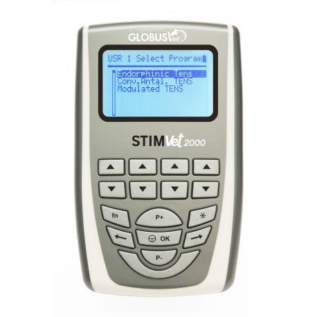 GLOBUS DISPOSITIVO VETERINARIO PROFESIONAL PARA ELECTROSTIMULACIÓN-STIMVET 2000