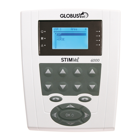 GLOBUS PROFESSIONAL VETERINARY DEVICE FOR ELECTROSTIMULATION-STIMVET 4000