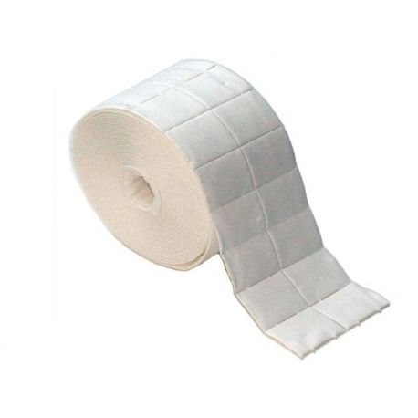 RO.IAL. NAIL PAD ROLL SCREW REMOVER TOWELS (500 UNITS)