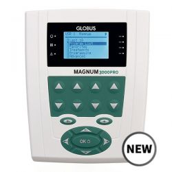 GLOBUS MAGNUM 3000 PRO FOR MAGNETOTHERAPY WITH TWO SOFT SOLENOIDS