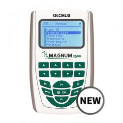 GLOBUS MAGNUM 2500 FOR MAGNETOTHERAPY WITH TWO FLEXIBLE SOLENOIDS