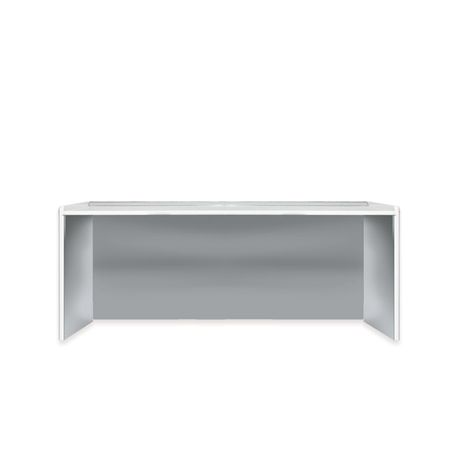 MOBILE SPACE WORKTOP 206 CM - WITHOUT WASHBASIN