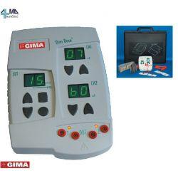 GIMA ELECTROESTIMULADOR STIMA BASE PLUS - 2 CANALES Y 12 PROGRAMAS
