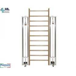 FISIOTECH DOUBLE EXERCISE PULLEY WITH WALL BAR
