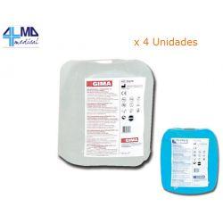 GIMA GEL DE ULTRASONIDO AZUL U TRANSPARENTE - BOLSA DE 5 KG (4 UDS)
