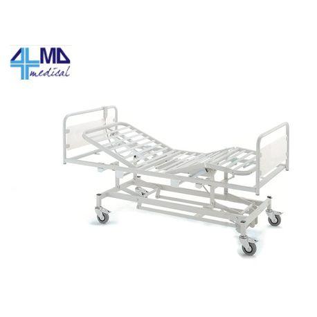 GIMA CAMA DE HOSPITAL CON 3 ARTICULACIONES - ELÉCTRICO - CON RUEDAS