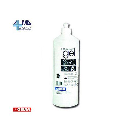 GIMA GEL DE ULTRASONIDO AZUL U TRANSPARENTE - FRASCO DE 250 ML (20 UDS)