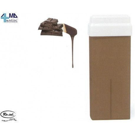 RO.IAL CERA DEPILATORIA LIPOSOLUBLE L CHOCOLATE - CARTUCHO DE 100 ML (10 UDS)
