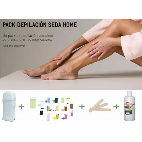 RO.IAL. SILK HOME HAIR REMOVAL PACK - WAX HEATER + WAX CARTRIDGE + SPATULAS + POST HAIR REMOVAL OIL