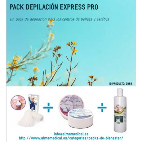 RO.IAL. EXPRESS PRO DEPILATION PACK - HAIR STRIPS + ROLL STRIPS + POST HAIR REMOVAL EUCALYPTUS OIL