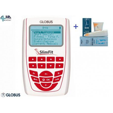 GLOBUS ELECTROESTIMULADOR ELITE 2 + KIT + FRASCO DE GEL 1 L