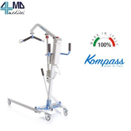 MORETTI ALZA PACIENTES ELÉCTRICO - ACTUADOR TIMOTION - SERIE ARKIMED - CAPACIDAD 180KG
