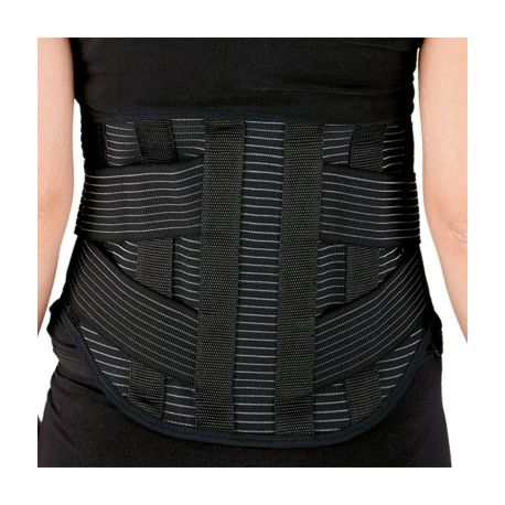 INTERMED LUMBAR CORSET WITH DOUBLE REAR SEALS AND FLEXIBLE STRIPS - VARIOUS SIZES