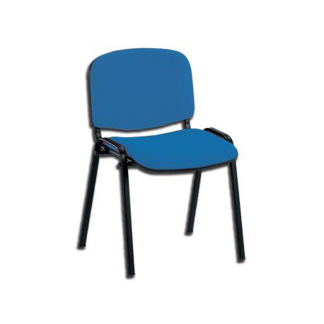 GIMA  ISO VISTOR CHAIR - FABRIC - BLUE