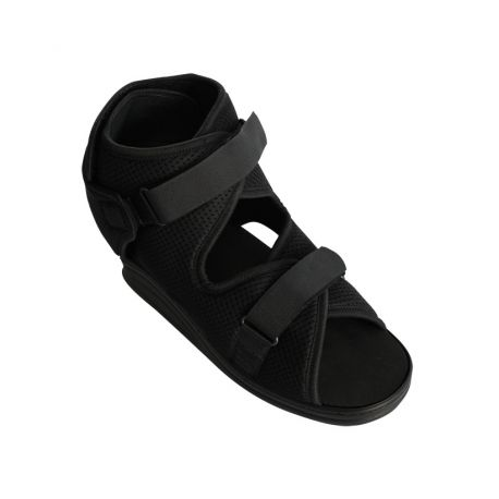 INTERMED PHYSIOLOGICAL FOOTWEAR WITH ADJUSTABLE CLOSURE, IN MICRO-PERFORATED COTTON - DIFFERENT SIZES