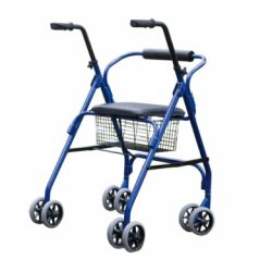 INTERMED WALKER ROLLATOR WITH FOUR DOUBLE WHEELS (PARIS)