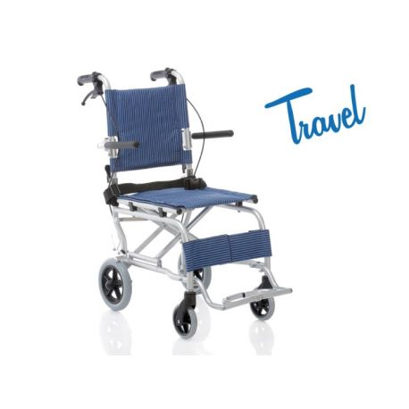 MORETTI FOLDING TRAVEL WHEELCHAIR – TRAVEL SERIES 37 CM
