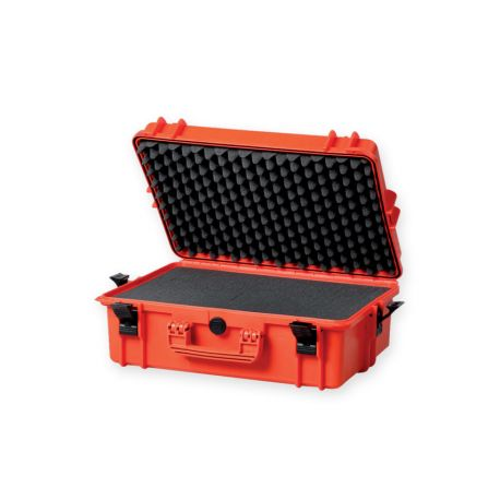 GIMA CASE 430 WITH INTERNAL FOAM - ORANGE