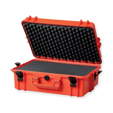 GIMA GIMA CASE 500 WITH INTERNAL FOAM - ORANGE