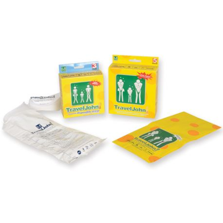 GIMA TRAVELJOHN DISPOSABLE VOMIT BAG 800CC (5 PCS)