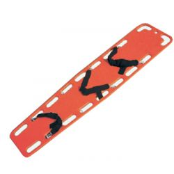 GIMA SPINAL BOARD WITH PINS - ORANGE