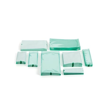 GIMA FLAT POUCHES FOR AUTOCLAVE, STEAM AND ETO (500 PCS)