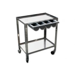GIMA INOX TROLLEY