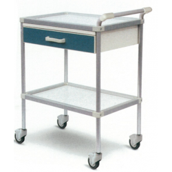 GIMA DELUXE TROLLEY WITH DRAWER - 58X4XH19.5 CM