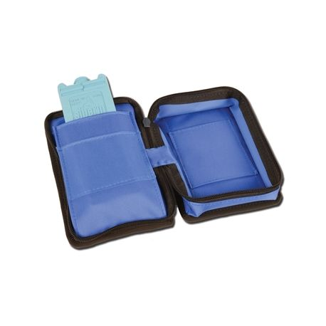 GIMA MINI DIABETIC BAG EMPTY - NYLOON BLUE