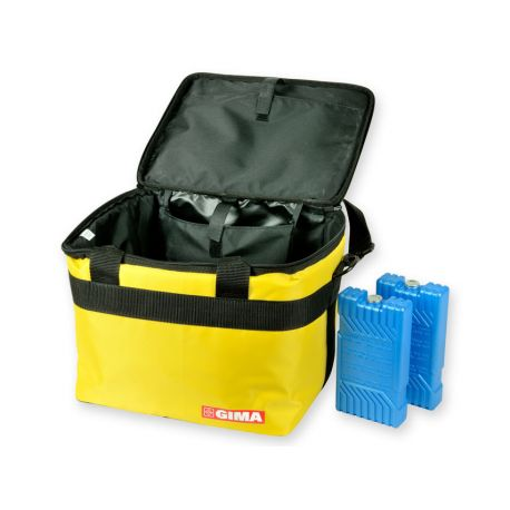 GIMA  THERMAL BAG - YELLOW NYLON