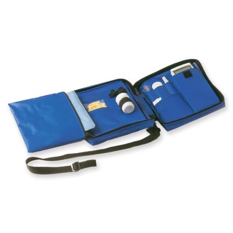 GIMA DIABETIC BAG EMPTY - NYLON BLUE