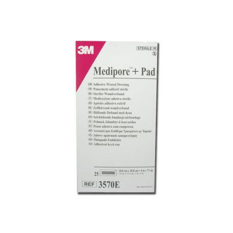 3M MEDIPORE + PAD - 10 x 20 CM (25 PCS)