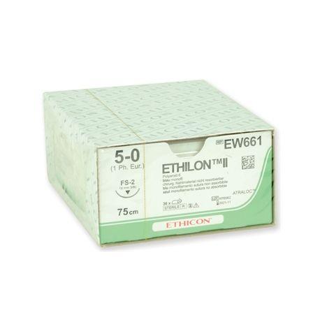 ETHILON SUTURA MONOFILAMENTO ETHICON ETHILON - CALIBRES DIVERSOS (36 UDS)